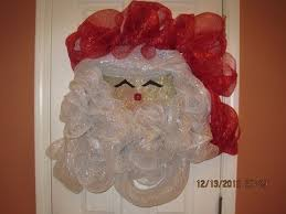 deco mesh supplies how to make your own deco mesh santa wreath wreaths santa