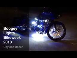 boogey lights blue and white motorcycle leds with zone remote
