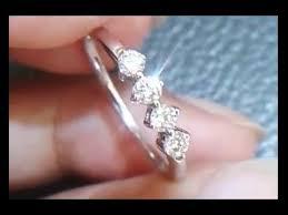 cincin emas putih 562 cincin wanita berlian emas putih