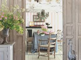 rustic chic dining room ideas shabby table modern awesome