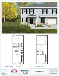 100 town home floor plans 2 bedroom townhome the southern
