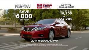 nissan altima vin number location america u0027s best sales event is on at vision nissan webster youtube