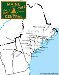 new england central railroad map the maine central railroad northern new england railroading at it s