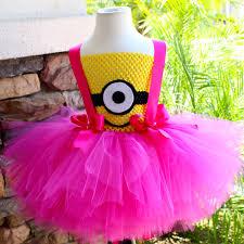 minions costume for toddlers minion tutu dress pink minion tutu dress minion