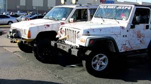 jeep custom paint post zombie apocalypse jeeps custom youtube