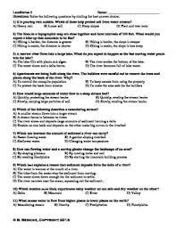 landforms multiple choice worksheets test prep by reincke u0027s