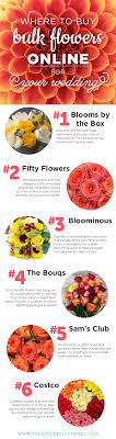 flowers in bulk where to buy bulk flowers online for your wedding