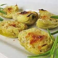 cuisiner les fonds d artichauts cœurs d artichauts gratinés recettes allrecipes québec