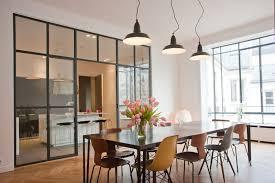 cloison vitree cuisine verrière d intérieur miraluver pau