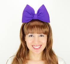 mickey mouse halloween costumes daisy duck bow big purple minnie mouse ears headband daisy
