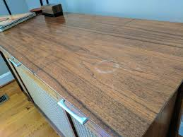 how to remove white spots of wood furniture how to remove water stains from wood furniture cnet