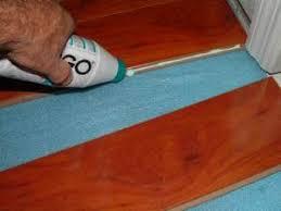 how to your laminate joints waterproof floor