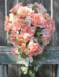 Wedding Flowers Keepsake Wedding Bouquet Keepsake Bouquet Bridal Bouquet Coral Rose
