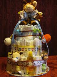 mom u0027s little place diaper cake for a baby shower