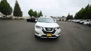 Nissan Rogue White - 2017 nissan rogue sl pearl white hc811517 kent tacoma