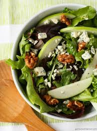arugula salad with walnuts blue cheese and cranberries recipe
