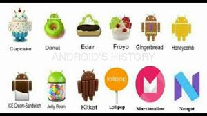 version of for android android versions history 2008 2016 updated