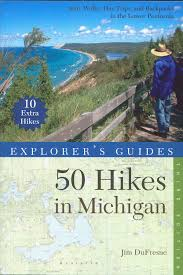 Michigan Trail Maps by Trail Guide Sets New Standard For Books About Hiking In Michigan