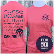 nursing shirt monogrammed t shirt shirt appreciation