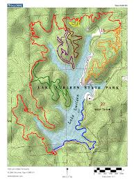 Mn State Park Map by New Ridge Loop At Lake Lurleen Blog Alabama Outdoors