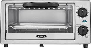 Toaster Oven Set Bella 4 Slice Toaster Oven Multi Bla14413 Best Buy