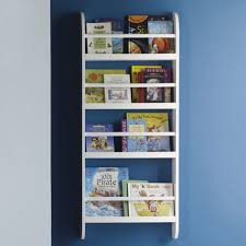 Wall Mounted Bookcase Shelves Furniture Home Childrens Book Shelves Wall Mounted White Colored