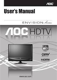 aoc flat panel television l22h998 user guide manualsonline com
