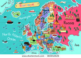 eurpoe map vector maps of europe