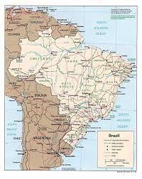 Parana River Map Www Mappi Net Maps Of Countries Brazil