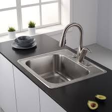 Kitchen Sink Undermount Single Bowl - stainless steel kitchen sink gauge fresh in classic 25 inch