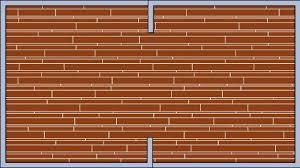 random widths flooring patterns