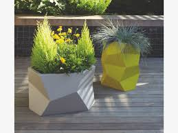 Large Planters Cheap by Furniture Roof Planters Fiberglass Planters Contemporary