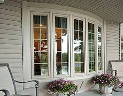 bay bow window gallery platinum vinyl windows and patio doors bow window