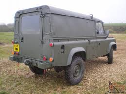 military land rover rover military defender 110 12v 24v ffr hardtop 2 5 diesel 1986 rhd