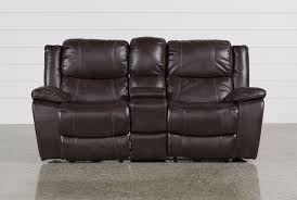 furniture lavish loveseat recliner with console to complete your
