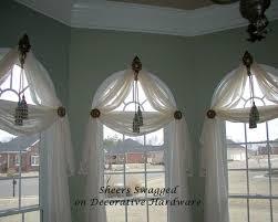 Curtains For Palladian Windows Decor Bold Design Arched Windows Decor Curtains