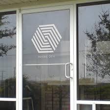 glass door signs office window vinyl frosted vinyl logos window signs