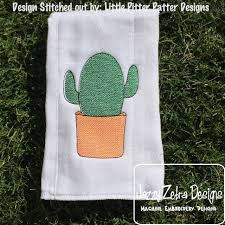 cactus 2 sketch embroidery design cactus embroidery design