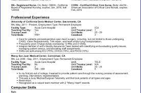 Pacu Resume Sample Nursing Resume Rn Writing Resume Sample Writing Resume