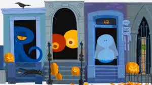 happy halloween google halloween doodle 2012 trick or treat