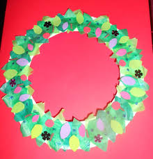 james u0026may arts and crafts blog paper plate christmas wreath