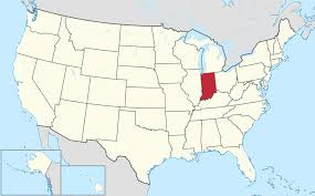 State Map Of The Us by Indiana Familypedia Fandom Powered By Wikia