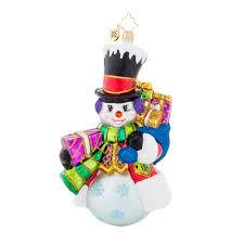 christopher radko ornaments 2015 radko top hat frosty snowman ornament