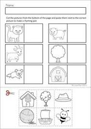 farm animals kindergarten special education autism cut and paste