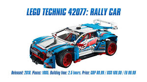 sariel pl mustang technic 42077 rally car in depth review speed build 4k