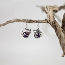 cat earrings cat earrings