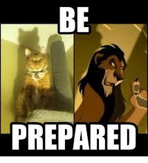 Be Prepared Meme - be prepared meme on me me
