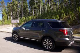 Ford Explorer Rims - first drive 2016 ford explorer platinum