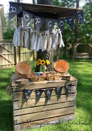 rustic country themed graduation party the monogrammed farmhouse
