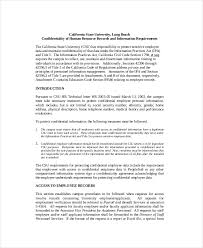 confidentiality agreement template 12 free pdf word download